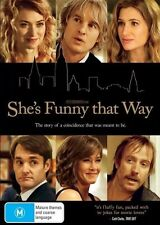 SHE'S FUNNY THAT WAY DVD JENNIFER ANISTON NEW & SEALED- FREE FAST POST!