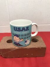 1987 American Greetings Ziggy Usaf Short-Timer Mug Vguc
