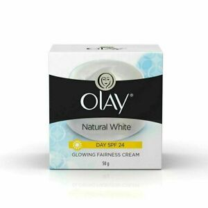 Olay Natural White Glowing Fairness Day Cream SPF 24, 50 g - Free Shipping