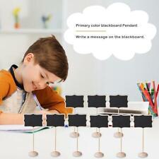 20pcs Mini Chalkboard Kids Lace-shaped Blackboard with Stand Message Board Toy