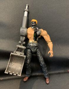 Custom DC Direct Superman/Batman Public Enemies Metallo Action Figure