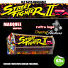 Arcade Marquee Stickers Graphics Artwork  Laminated All Designs Street fighter +