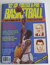 "1982-1983 ""College & Pro Basketball"" A Guide Devoted To The Serious Wagerer"