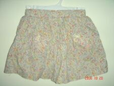 baby gap pink flowers shortall skirt cute size 2 years