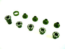 gobike88 KCNC Crank Bolts for CAMPAGNOLO, Al 7075, Green, 634
