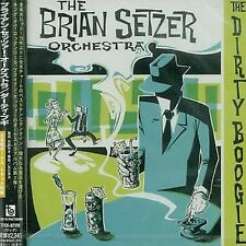 The Dirty Boogie by The Brian Setzer Orchestra (CD, Jun-2001,INTERSCOPE RECORDS