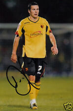WATFORD: DON COWIE SIGNED 6x4 ACTION PHOTO