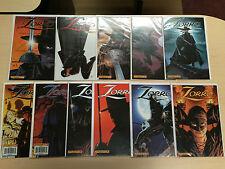 Zorro #1-20 2008 Dynamite DE Multiple Covers 40 Comics Complete Set Full Run NM