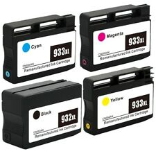 4 Pack HP 932 XL 933 XL Ink Cartridge for HP Officejet 7510 7610 7612 & More