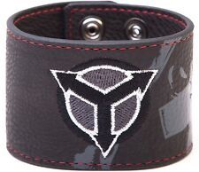 Killzone Shadow Fall Logo Canvas/PU Wristband ( Official New )