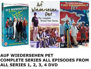 AUF WIEDERSEHEN PET Complete Series 1 2 3 4 weidersehen weidersen Collection DVD