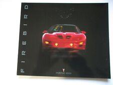 2001 PONTIAC FIREBIRD-TRANS AM SHOWROOM SALES BROCHURE..28-PAGES