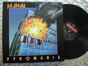 Def Leppard  ~ Pyromania ~  Vintage  LP Mercury – 422-810 308-1 M-1