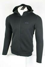 Oakley Men's Tech Knit Full Zip Hoodie Size Small Blackout 472397
