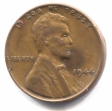 U.S. 1944 Lincoln Wheat Penny - Shell Casing One Cent Coin - Philadelphia Mint