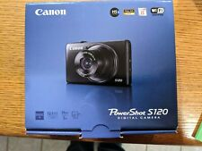 Canon PowerShot S120 With Charger And Case