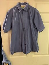 Red Kap Work Shirts L-SS  Cotton Nice Used. 6 For $20 Navy/Blue Free Shipping