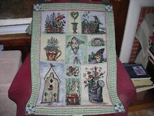Vicky Howard Garden Party Wallhanging