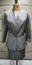 GIANNI VERSACE RARE STYLISH Vintage Wool & Silk suit 8 -10 IT42 Jacket /skirt