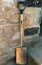 Hilka Pro Garden Stainless Steel Digging Spade - Ergonomic PYD Handle