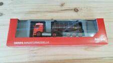 """Herpa 311526 - 1/87 Volvo FH Gl. Swapcontainer-Sattelzug """"Den Hartogh"""" (NL)- Neu"""