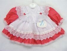 Lace Patternless Dresses (0-24 Months) for Girls