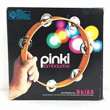 Pinki Tambourine Bliss Tambourin / Vintage 70's Made in Italy