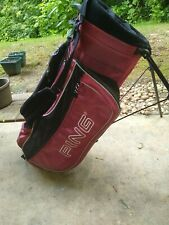 Ping Carry Golf Bag - Black / pink Youth
