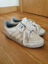 Adidas white casual Trainers size 8