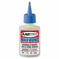 Arizona Archery Enterprises AAE .7oz Bottle Max Bond Glue Fletching Glue - Vane