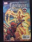 """Fantastic Four #512 513 (2004) """"Spider Sense"""" Waid Wieringo Kesel VF+"""