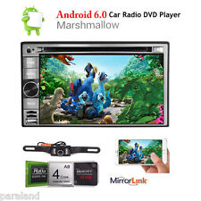 "Quad Core Android 6.0 GPS Car Radio Stereo DVD Player 6.2"" Double 2 DIN 3G WIFI"