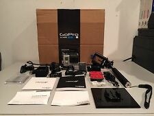 GoPro Hero 3+ Silver Edition Everything in Original Box MUST SEE!