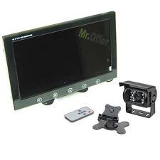 kit retrocamera parcheggio camper con monitor 9 pollici e telecamera 18 led