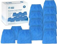 Fette Filter - Premium Quality 12 Pack of Cloth Filter Bags VRC5 for Vacmaste...