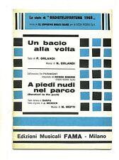 UN BACIO ALLA VOLTA-A PIEDI NUDI NEL PARCO# Spartito Fama# El Supremo Brass Band