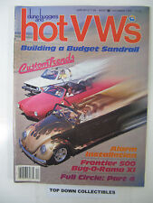 Hot V Ws & dune buggies  December  1983   Building A Budget Sandrail