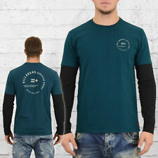 Billabong Herren Longsleeve T-Shirt Surfplus petrol langarm Shirt für Männer Men