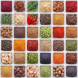 INDIAN GROCERIES HOME MADE SPICES WHOLE OR GROUNDED MDH LENTILS DAL RICE FLOUR