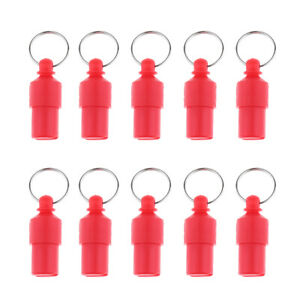 Dog Cat Puppy Collar ID Barrel Tube Address Name Tags Brass Pack of 10