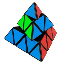 Pyraminx Pyramid Magic Cube Speed Twist Puzzle Intelligence Triangle Toy - Black
