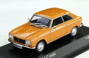 Peugeot 304 Coupé Bj. 1970-1975, orange, Minichamps-Modell im M. 1:43, OVP