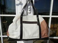 Sondra Roberts Black Trim Shoulder Bag Handbag Purse