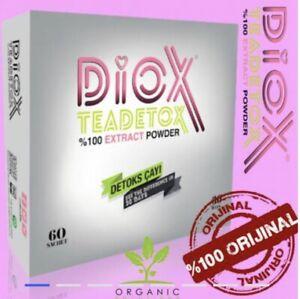 DIOX TEA TEADETOX TEE ZUM ABNEHMEN FATBURNER DETOX CAYI ORIGINAL!!! 60 BEUTEL