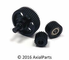 HD Hardened Steel Metal Transmission Gears Axial SCX10 Crawler Wrangler Deadbolt