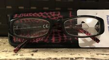 "NWT +2.75 Reader's Choice By Foster Grant ""Vianca"" Reading Glasses w/ Soft Case"