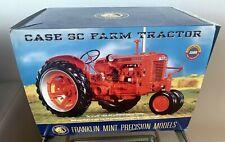 Case SC Farm Tractor Orange Franklin Mint Precision Models 1:12 Scale Model