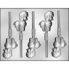 Easter Lamb Lollipop Chocolate Lollipop Candy Mold CK #2255 NEW