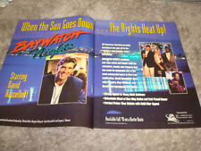 BAYWATCH NIGHTS Emmy ad David Hasselhoff, Eddie Cibrian, Lou Rawls, Angie Harmon