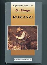 Giovanni Verga # ROMANZI Mastro Don Gesualdo-I Malavoglia.. Reverdito 1995 Libro